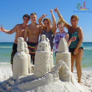 Beach Sand Sculptures Destin